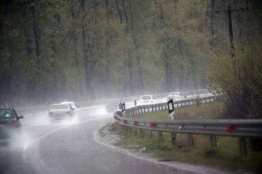 جادههای کرج - چالوس و فیروزکوه تا اطلاع بعدی مسدود شد