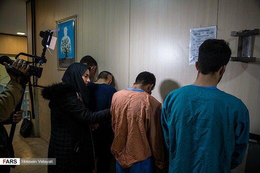 دستگیری سارقان خانه های شمال تهران
