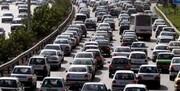 جاده هراز و محور تهران - بومهن اسیر ترافیک سنگین