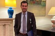 ببینید | حرف های ضد جنگ و ضد سیاست شهاب حسینی پس از گرفتن نشان شوالیه