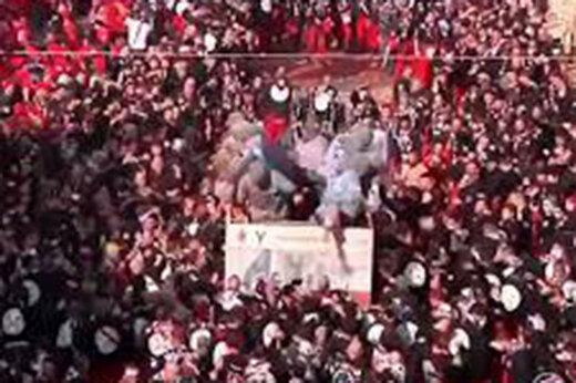 ببینید   حال و هوای توریستهای در ایتالیا پس از شیوع کرونا در جشن پرتقال!
