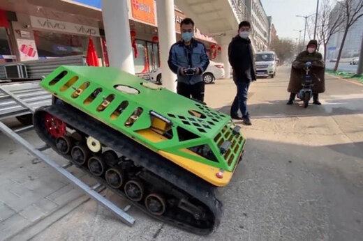 ببینید   مبارزه جدید و مدرن چین برای مقابله با کرونا