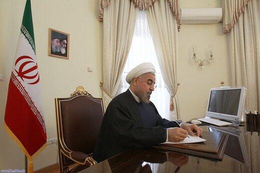 """الرئيس روحاني يعزي بوفاة والدة الشهيدين """"فهميده"""""""