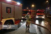 ببینید | تصاویر آتش سوزی بامدادی یک مجتمع مسکونی در قم که ۵ قربانی گرفت