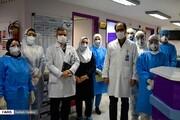 تصاویر | بخش ویژه «بیماران کرونا» بیمارستان امام رضا(ع) تبریز