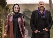 عکسی تازه از نیکی کریمی و امیر آقایی در سریال «آقازاده»