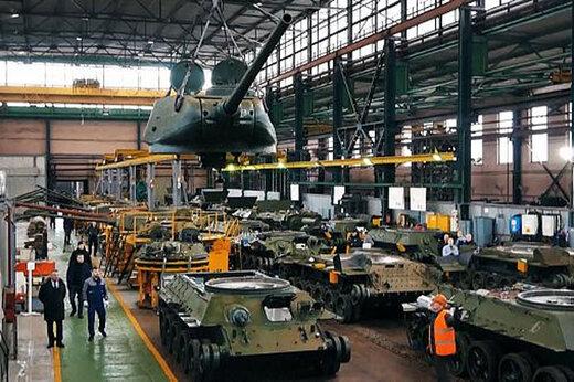 ببینید   تعمیر تانکهای جنگ جهانی دوم در روسیه