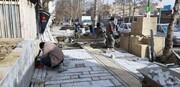 پیشرفت 80 درصدی پیادهراهسازی خیابان فردوسی