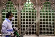 تصاویر | حرم حضرت عبدالعظیم(ع) ضدعفونی شد