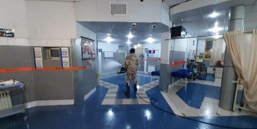 این نیروهای سپاه درحال مقابله با کرونا هستند +عکس