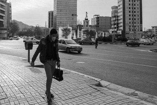 تصاویر-  مردم تهران اینگونه به مبارزه با کرونا رفتند