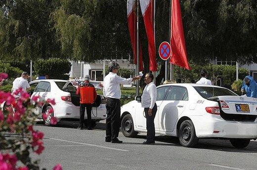 تدابیر ویژه شرکت عمران برای ضدعفونی روزانه ناوگان حملونقل شهری جزیره