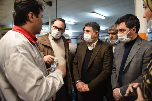 نظارت دانشگاه علوم پزشکی بر پخش اقلام بهداشتی