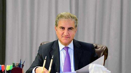 پیام مهم شاه محمود قریشی در سفر به ایران