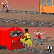 گوزنی که قطار لیورپولیها را متوقف کرد!