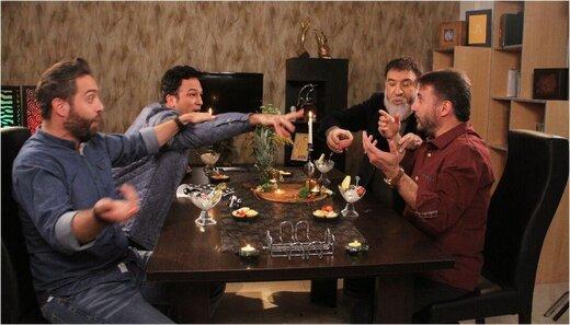 بازیگر زنِ خارجی، به دلیل کرونا، سر میز «شام ایرانی» نیامد