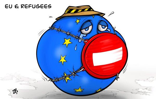 ترس اروپا از پناهجویان را ببینید!