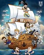 ببینید دزدان دریایی با مسی و یارانش چه کردند!