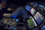 عکس | خلبانها حین پرواز میخوابند!