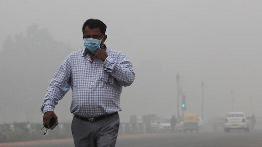 آلودگی ۱۰ برابری هوای خرمآباد