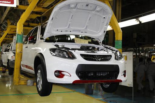 راهاندازی خط تولید بدنه خودروهای ساینا  و کوئیک در پارس خودرو