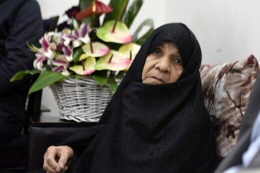 مادرِ شهید محمدحسین فهمیده درگذشت