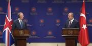 چاوش اوغلو در کنفرانس خبری مشترک با راب؛ تکلیف را با اروپا یکسره کرد