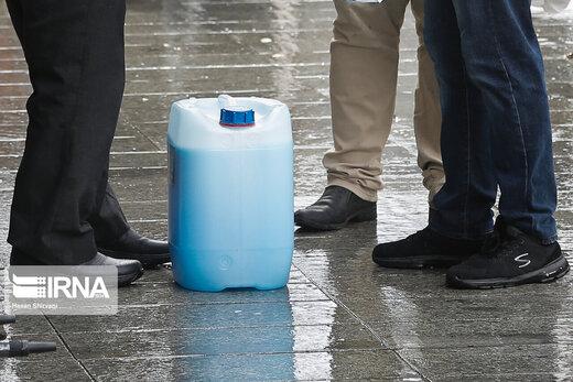 نگهداری الکل و مواد ضدعفونی کننده در مکانهای سربسته خطرناک است