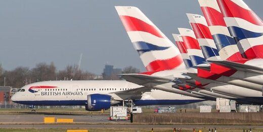 کرونا، صدها پرواز بریتیش ایرویز را به اروپا و آمریکا لغو کرد