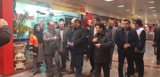 بازدید شبانه فرماندار ارومیه از ضدعفونی پایانه مسافری شهر