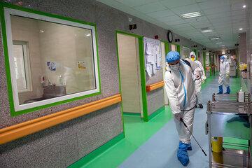 نگاهی به بخش قرنطینه بیمارستان گلستان کرمانشاه/ تصاویر