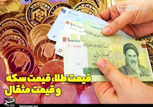 قیمتها در بازار طلا و سکه نزولی شد