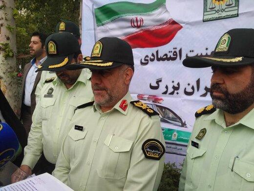 کشف ۴۶ میلیون دستکش از چهار انبار در جنوب تهران