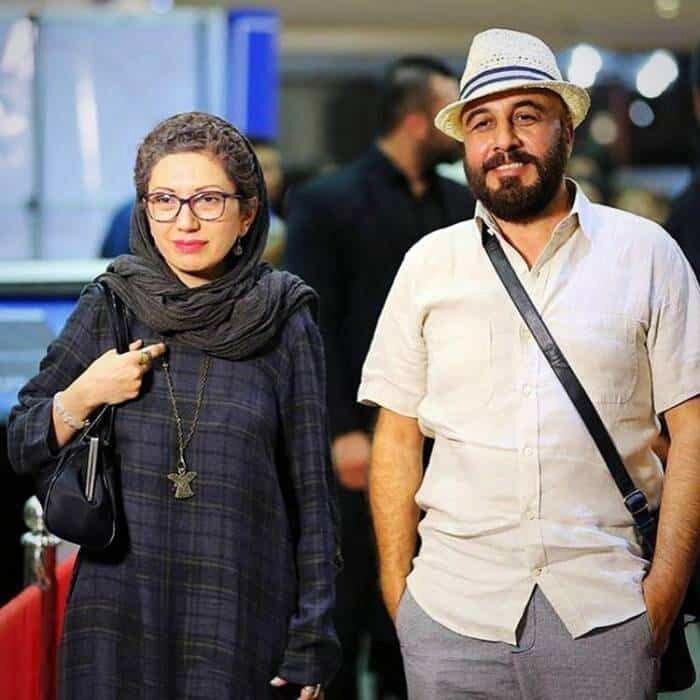 رضاعطاران و همسرش