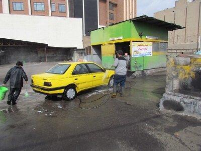 راه اندازی کارواش یارانهای برای تاکسیرانان در قزوین