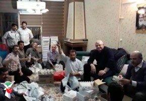 توزیع پک های بهداشتی در بین جامعه ایثارگری استان البرز