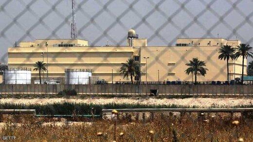 تصمیم سفارت آمریکا در پی حملات مکرر به پایگاه نظامی کشورش در بغداد