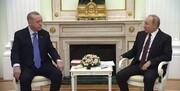 اردوغان در کنار پوتین از اجرای آتش بس خبر داد