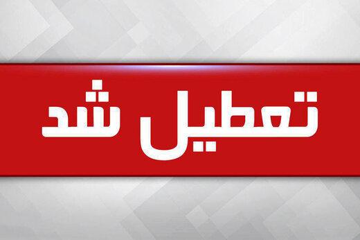 ببینید   مدارس و دانشگاهها تا عید تعطیل شد/وزیر بهداشت:در خانه بمانید ، کرونا شوخی نیست