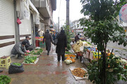 ببینید | خیابان سام رشت؛ امروز/لطفا کرونا را جدی بگیرید