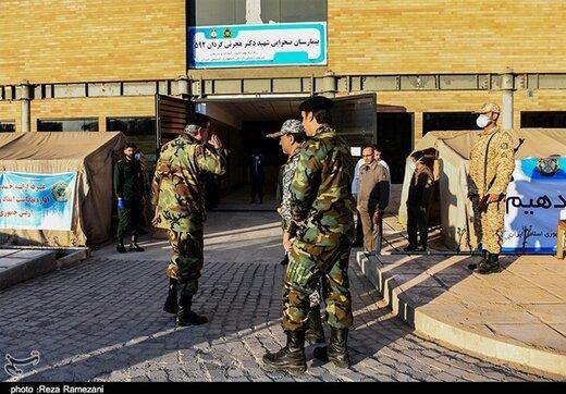 حال و هوای ضدکرونایی رژه ارتش /کرونا بر توان و قدرت رزمی ایران تاثیرگذاشته است؟