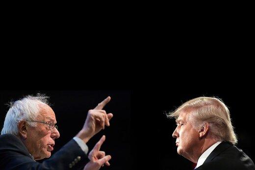 ترامپ حذف سندرز از رقابتها را پیشبینی کرد