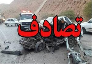 تصادف شدید در محور بوکان - مهاباد ۲ نفر را به کام مرگ کشید