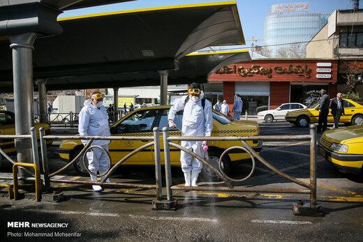  آغاز ضدعفونی خیابانهای پایتخت