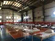 تجهیز ۸ سوله بحران برای کرونا در پایتخت/آماده سازی ۶۰۰ تخت
