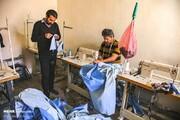 تصاویر | لباسهای ایزوله پرستاران بخش کرونا اینگونه تولید میشود