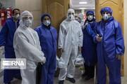 تصاویر   نه پرستارند، نه بیمار و نه دکتر، اما در قرنطینه بیمارستان