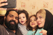 """سرگرمی دخترهای """"رضا صادقی خوانندهی معروف"""" در خانه!"""