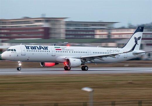 تعلیق  پروازهای ایرانایر به مقاصد اروپایی تا اطلاع ثانونی