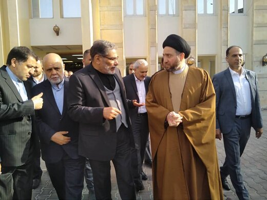 رهبران سیاسی عراق با شمخانی دیدار کردند /از عمار حکیم تا نوری المالکی و حیدرالعبادی